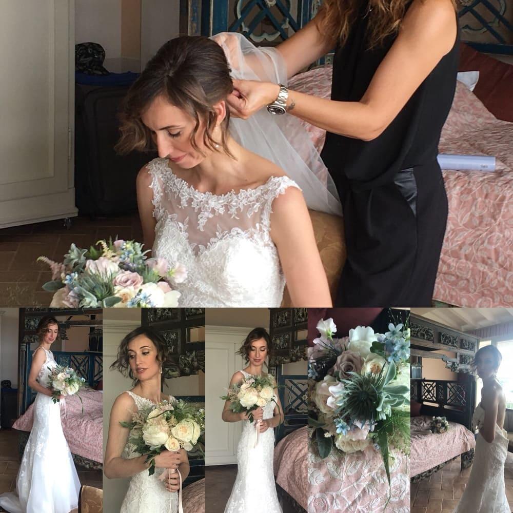 I Salò La Donna - Portfolio matrimonio hair style